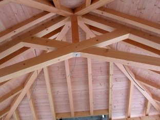 Examples of our Timber Frame Trusses